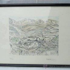 Arte: LITOGRAFÍA ENMARCADA ANTONI MAS CASTELLOT, MAYO 1980. NUMERADA Y FIRMADA.. Lote 37552844