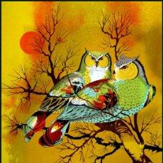 Arte: PRECIOSA LITOGRAFIA VINTAGE (GRAN TAMAÑO) FIRMADA Y NUMERADA A LAPIZ.. Lote 38299373