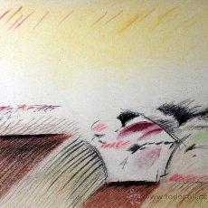 Arte: RAFOLS-CASAMADA, A (1923-2009). PRECIOSA LITOGRAFIA. FIRMADA. NUMERADA.. Lote 38493485