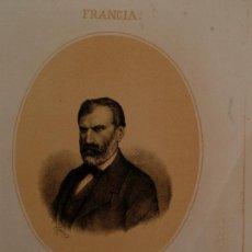 Arte: LITOGRAFÍA DEL SIGLO XIX DE EUGENIO PELLETAN (FRANCIA) LIT DE N. GONZALEZ, MADRID . Lote 38807665