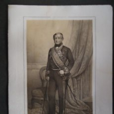 Arte: LITOGRAFIA 45X32CM. 'J.A. TOLEDO' ESTADO MAYOR GENERAL DEL EJERCITO ESPAÑOL'. Lote 40143049