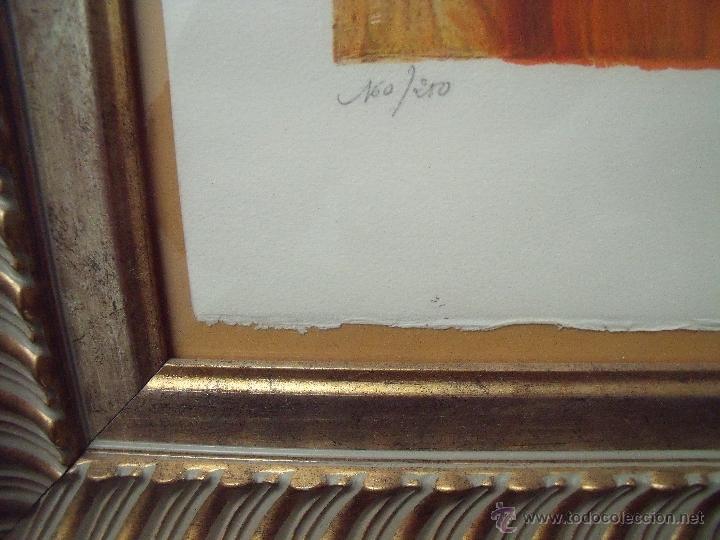 Arte: RENOIR.-MUCHACHA CON SOMBRERO.-LITOGRAFIA ENMARCADA.-FIRMADA EN PLANCHA Y NUMERADA A MANO 160/250. - Foto 5 - 40177398