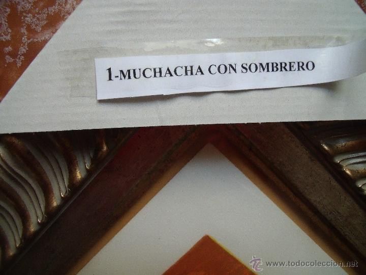 Arte: RENOIR.-MUCHACHA CON SOMBRERO.-LITOGRAFIA ENMARCADA.-FIRMADA EN PLANCHA Y NUMERADA A MANO 160/250. - Foto 7 - 40177398