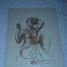Arte: LITOGRAFIA - MUNTANÉ - DESNUDO FEMENINO. Lote 40262856