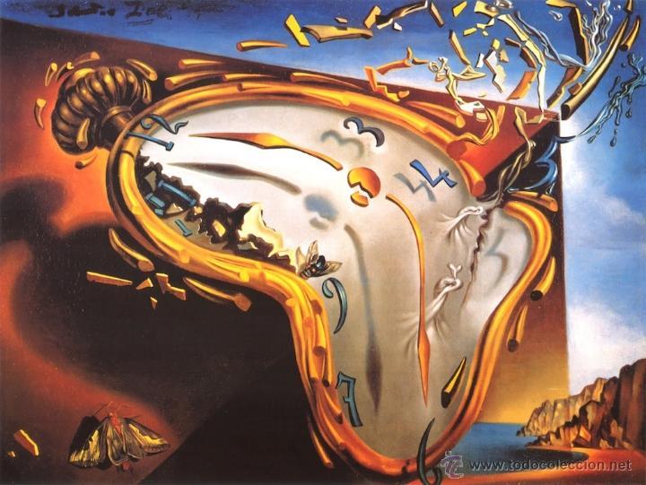 Resultado de imagen de reloj dali