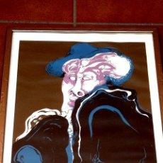 Arte: LITOGRAFIA DE ANTONI PEDRET SOLER.PRUEBA DE ARTISTA.. Lote 40758197