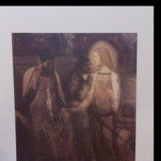 Arte: LITOGRAFIA DE GEORGES ROUAULT EL NIÑO JESÚS CON EL MEDICO AÑOS 80 CON CERTIFICADO EDICION LIMITADA. Lote 40923673