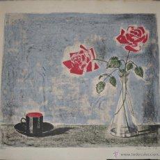 Arte: HARRY SEGUELA LITOGRAFIA ORIGINAL FIRMADA Y NUMERADA. Lote 40943990
