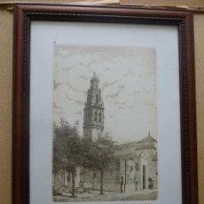 Arte: BONITO GRABADO TORRE SE SAN JUAN, ÉCIJA, NUMERADA. Lote 41073228