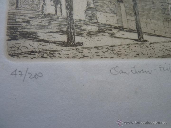 Arte: BONITO GRABADO TORRE SE SAN JUAN, ÉCIJA, NUMERADA - Foto 3 - 41073228