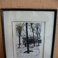 Arte: LITOGRAFIA - RAMÓN CODINACH - VISTA PARISINA 2. Lote 41403664
