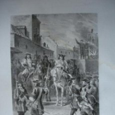 Arte: ARCHIDUQUE DON CARLOS DE AUSTRIA.1871.LITOGRAFIA J SERRA.HISTORIA DE ESPAÑA RAFAEL DEL CASTILLO. Lote 41449195