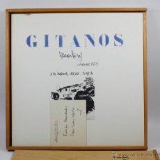 Arte: GITANOS. RAMÓN JESÚS, 1973. PORTFOLIO EN CAJA CON DIBUJOS, 42X43 CM. COMPLETO.. Lote 41509442