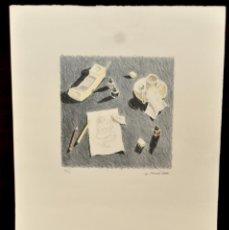 Arte: LITOGRAFÍA ORIGINAL DE JULIET POMES LEIZ. TIRAJE 67/90. AÑO 1989. Lote 41531330