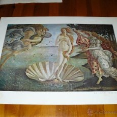 Arte: LITOGRAFÍA - BOTTICELLI - EL NACIMIENTO DE VENUS. Lote 41571689