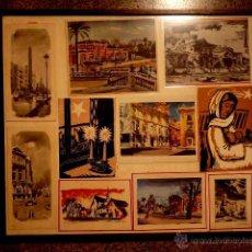 Arte: CUADRO CON LÁMINAS Y LITOGRAFIAS DE FEDERICO LLOVERAS. Lote 41579241