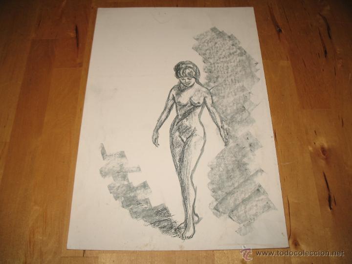 obra de arte desnudo litografa mujer desnuda c  Comprar