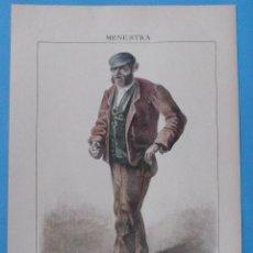 Arte: LITOGRAFÍA ILUMINADA, BOCANEGRA (TUY) DE LA MENESTRA DE F. DE GUISASOLA. CIRCA 1880. 38 X 26 CM.. Lote 42311439