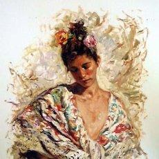 Arte: MANTÓN DE PEPE ROYO. Lote 151540034