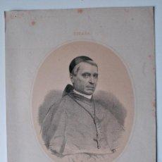 Arte: LITOGRAFIA SIGLO XIX, L. BARILI ARZOBISPO DE TIANA, NUNCIO APOSTOLICO. Lote 43454389