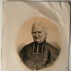 Arte: LITOGRAFIA ORIGINAL SIGLO XIX, MONSEÑOR DUPANLOUR, OBISPO DE ORLEANS. Lote 43903603