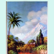 Arte: PRINCIPIOS SIGLO XX.- ANTIGUA LITOGRAFÍA A COLOR VERTICAL. LITOGRÁFICA ALEMANA. MEDIDAS 30 X 60 CM.. Lote 44073783