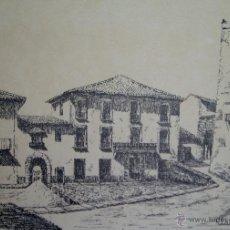Arte: FRANCISCO RIDAURA (1912-2004) PLAZA DE ALBAIDA (VALENCIA). Lote 44118653