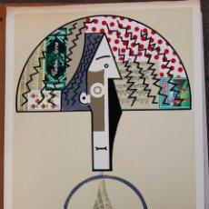 Arte: MANOLO VALDES, GALERIA MAEGHT, 1982-1983. CARTEL LITOGRÁFICO DE LA EXPOSICIÓN 57X80 CM.. Lote 44449493