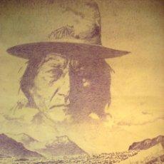 Arte: LA HERMANDAD PICTÓRICA ARAGONESA - 1976 - SITTING BULL . Lote 44618804