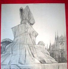 Arte: CHRISTO - GALERIA CIENTO - 1975 . Lote 44618983