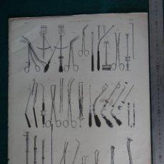 Arte: LITOGRAFIA - DEL ATLAS DE ANATOMIA Y CIRUGIA HUMANA DE BOURGERY Y JACOB - PARIS - 1831 - 1854 -. Lote 44822713