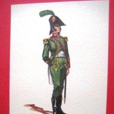 Arte: OFICIAL DE INFANTERIA LIGERA 1807. .. Lote 45110584