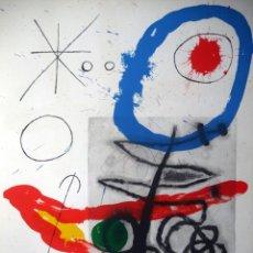 Arte: MIRO, J (1893-1983). 3 LITOGRAFIAS. 1965. MOURLOT 375,376 Y 380.. Lote 45172730