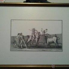 Arte: TRES LITOGRAFIAS DE FRANCISCO DE GOYA. TEMA TAUROMAQUIA.. Lote 45192773