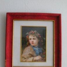 Arte: THE GARLAN OF JUNIPER BERRIES - WILIAM CHARLES THOMAS DOBSON - MARCO DE DAMASCO. Lote 45199246