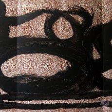 Arte: MIRO, J (1893-1983). LITOGRAFIA TRILE PAGINA. 1967. DLM 164-165. MOURLOT 441.. Lote 45232270
