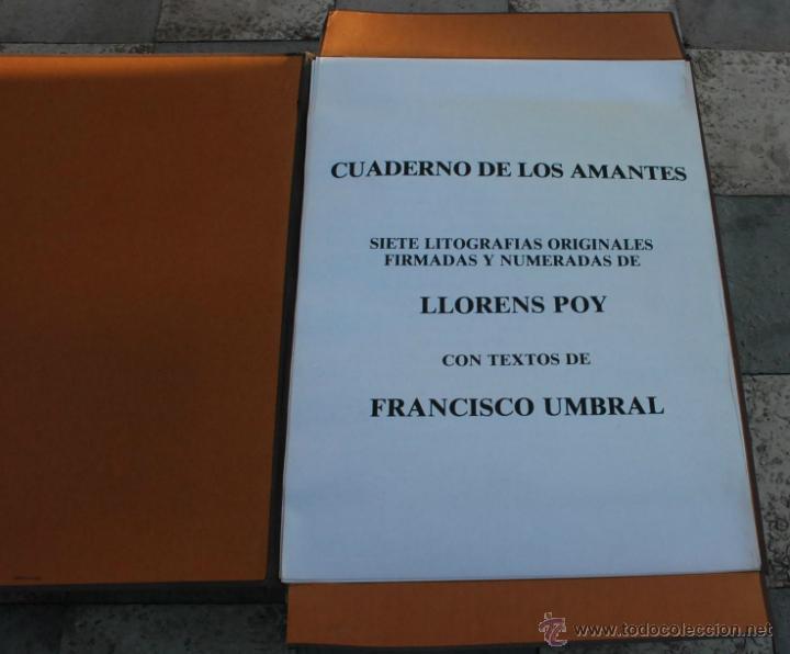 Arte: CARTEPA LITOGRAFIAS ORIGINALES FIRMADAS Y NUMERADAS V.LLORENS POY - Foto 2 - 45250041