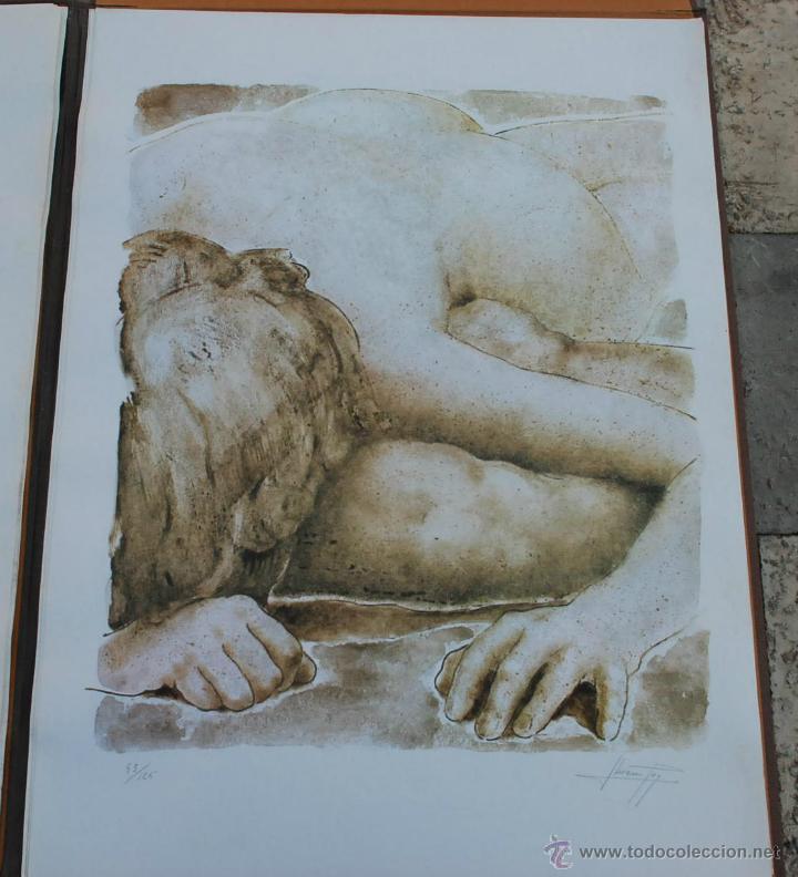 Arte: CARTEPA LITOGRAFIAS ORIGINALES FIRMADAS Y NUMERADAS V.LLORENS POY - Foto 4 - 45250041