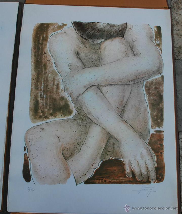 Arte: CARTEPA LITOGRAFIAS ORIGINALES FIRMADAS Y NUMERADAS V.LLORENS POY - Foto 5 - 45250041