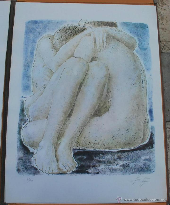 Arte: CARTEPA LITOGRAFIAS ORIGINALES FIRMADAS Y NUMERADAS V.LLORENS POY - Foto 6 - 45250041