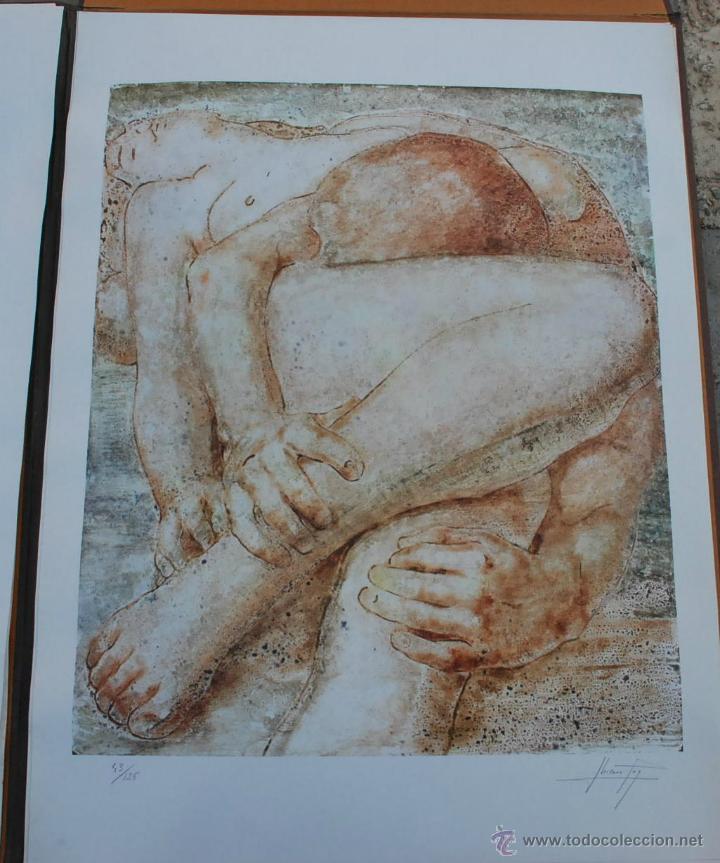 Arte: CARTEPA LITOGRAFIAS ORIGINALES FIRMADAS Y NUMERADAS V.LLORENS POY - Foto 7 - 45250041
