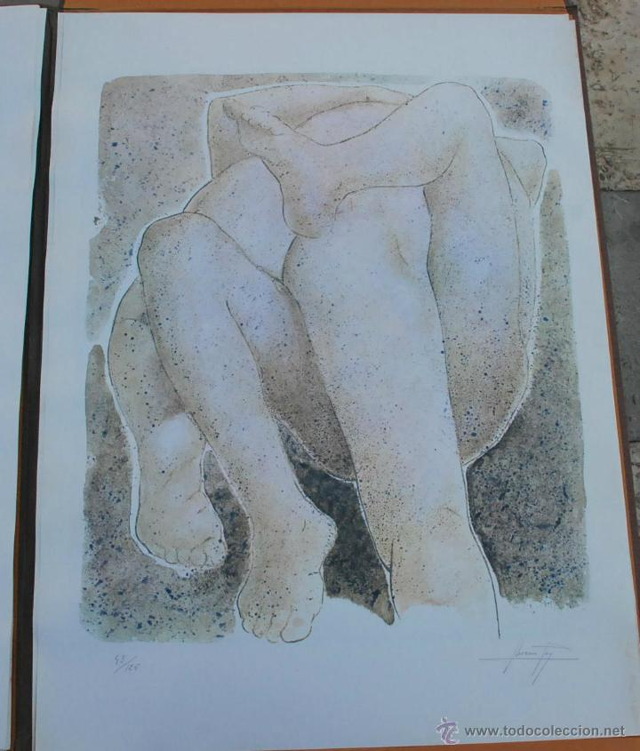 Arte: CARTEPA LITOGRAFIAS ORIGINALES FIRMADAS Y NUMERADAS V.LLORENS POY - Foto 8 - 45250041
