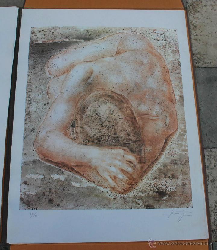 Arte: CARTEPA LITOGRAFIAS ORIGINALES FIRMADAS Y NUMERADAS V.LLORENS POY - Foto 9 - 45250041