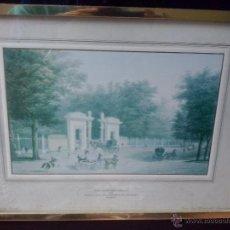 Arte: FERNANDO BRAMBILLA- PUERTA CASA DEL LABRADOR 1842 MADRID- SELLO PATRIMONIO NACIONAL LITOGRAFIA 1976. Lote 45441693