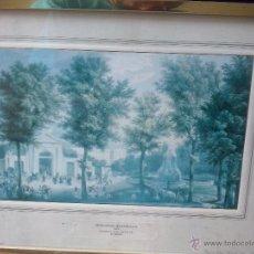 Arte: FERNANDO BRAMBILLA-PUERTA SAN VICENTE 1842 MADRID-SELLO PATRIMONIO NACIONAL 1976. Lote 45441722