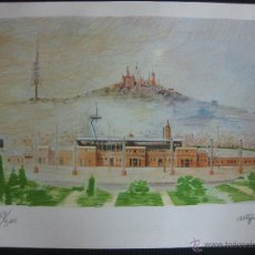 Arte: LITOGRAFIA DE FRANCESC ARTIGAU NUMERADA Y FIRMADA.. Lote 45530991