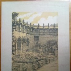 Arte: LITOGRAFIA PATI DELS TARONGERS DE LA DIPUTACIO DE BARCELONA A, CARDUNETS 40 X 30 CM (APROX). Lote 45687677