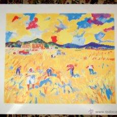 Arte: RAMÓN SANVISENS I MARFULL (BARCELONA, 1917-1987) LITOGRAFÍA FIRMADA POR EL ARTISTA. 55/225. Lote 46069026