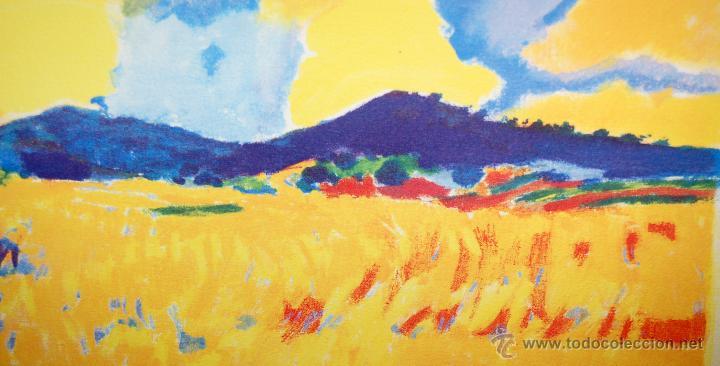 Arte: RAMÓN SANVISENS I MARFULL (Barcelona, 1917-1987) LITOGRAFÍA FIRMADA POR EL ARTISTA. 55/225 - Foto 3 - 46069026