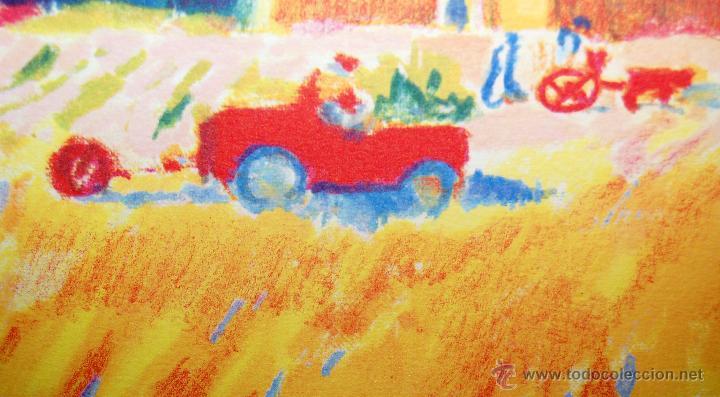 Arte: RAMÓN SANVISENS I MARFULL (Barcelona, 1917-1987) LITOGRAFÍA FIRMADA POR EL ARTISTA. 55/225 - Foto 5 - 46069026